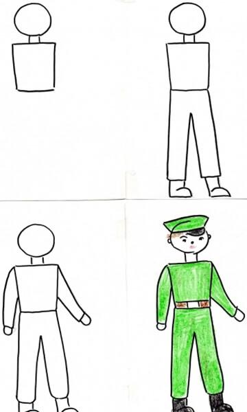 Детские рисунки на 9 мая в школу и садик detskie risunki ko dnyu pobedy 101