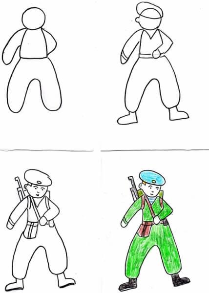 Детские рисунки на 9 мая в школу и садик detskie risunki ko dnyu pobedy 102