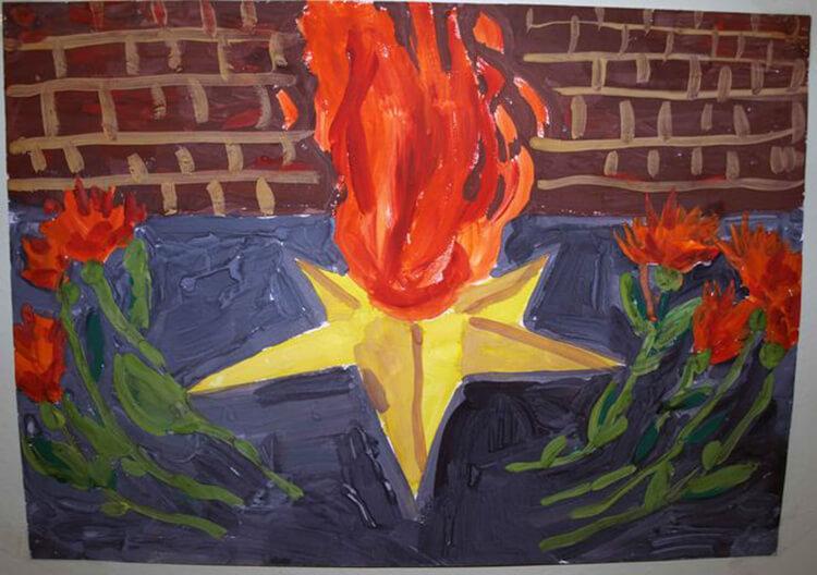 Детские рисунки на 9 мая в школу и садик detskie risunki ko dnyu pobedy 116