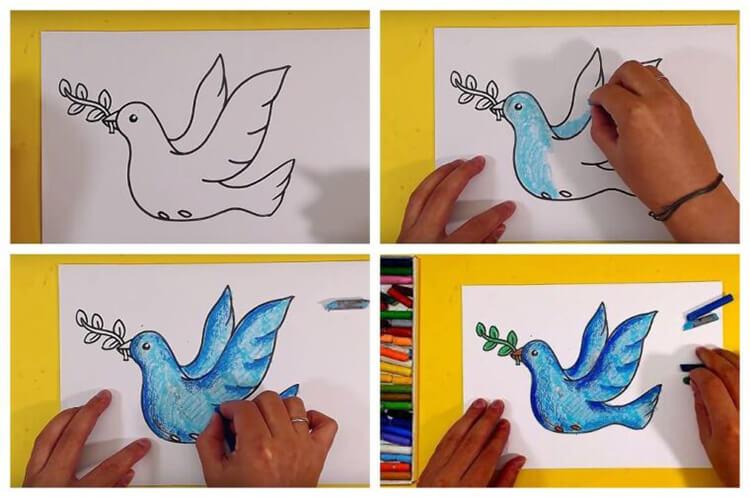 Детские рисунки на 9 мая в школу и садик detskie risunki ko dnyu pobedy 25