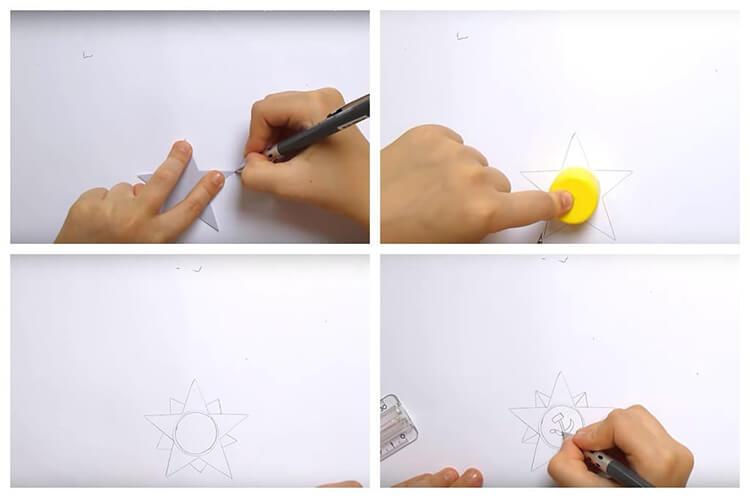 Детские рисунки на 9 мая в школу и садик detskie risunki ko dnyu pobedy 27