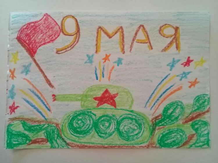 Детские рисунки на 9 мая в школу и садик detskie risunki ko dnyu pobedy 31