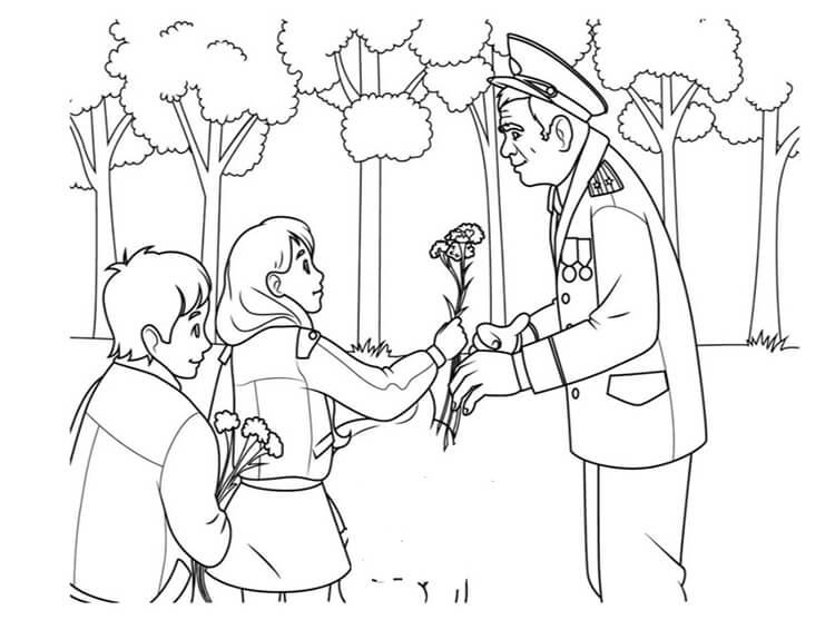 Детские рисунки на 9 мая в школу и садик detskie risunki ko dnyu pobedy 85