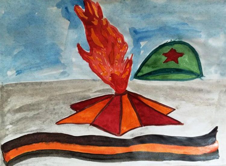 Детские рисунки на 9 мая в школу и садик detskie risunki ko dnyu pobedy 95