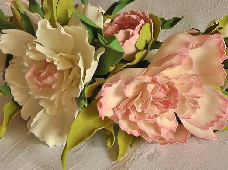 Пион своими руками: как сделать цветок различными способами kak sdelat piony svoimi rukami 102
