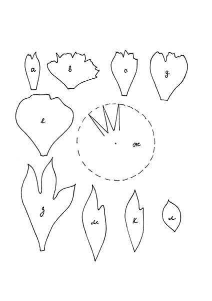 Пион своими руками: как сделать цветок различными способами kak sdelat piony svoimi rukami 123