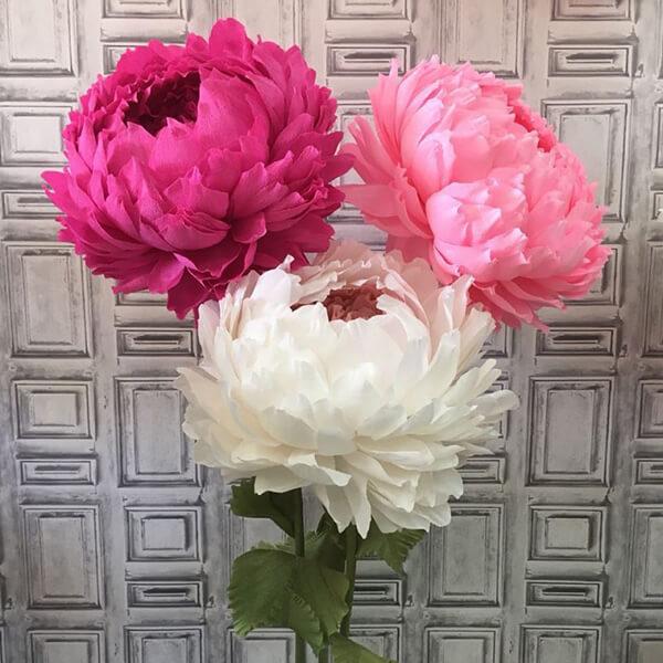 Пион своими руками: как сделать цветок различными способами kak sdelat piony svoimi rukami 13
