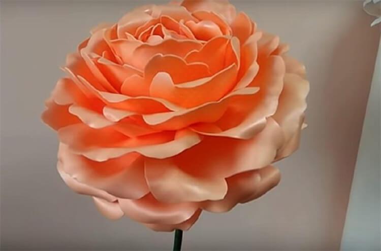 Пион своими руками: как сделать цветок различными способами kak sdelat piony svoimi rukami 130