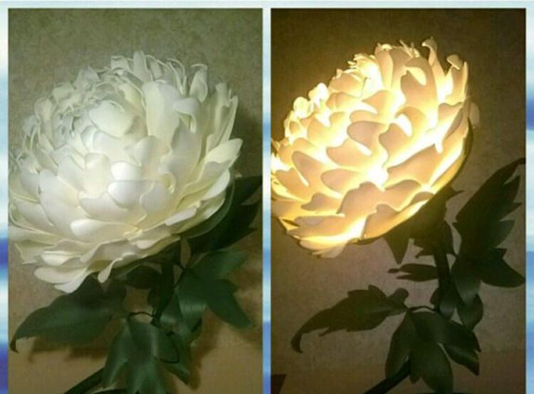 Пион своими руками: как сделать цветок различными способами kak sdelat piony svoimi rukami 142