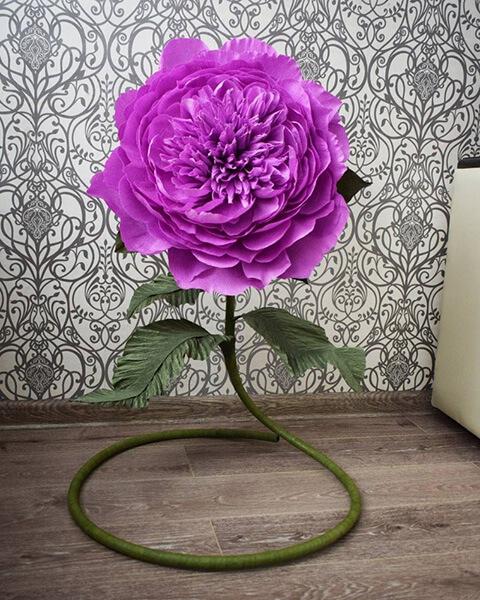 Пион своими руками: как сделать цветок различными способами kak sdelat piony svoimi rukami 15