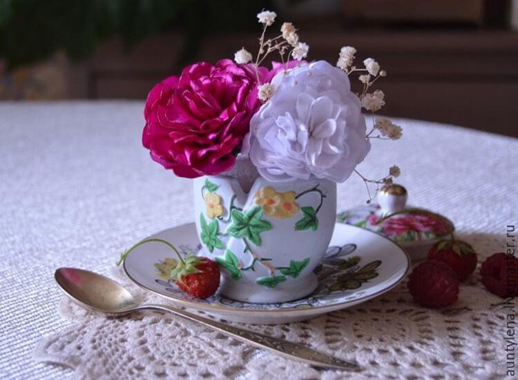 Пион своими руками: как сделать цветок различными способами kak sdelat piony svoimi rukami 152