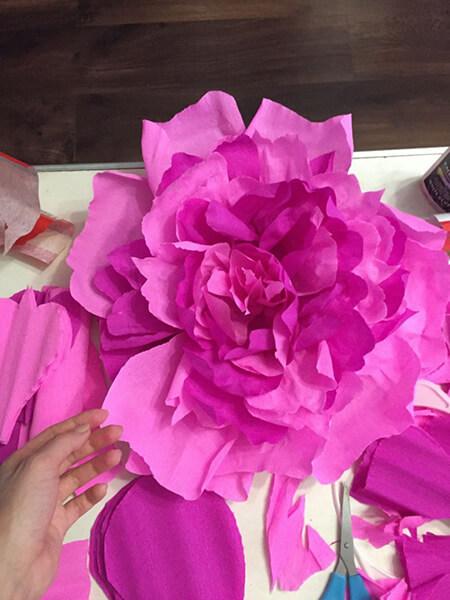Пион своими руками: как сделать цветок различными способами kak sdelat piony svoimi rukami 16
