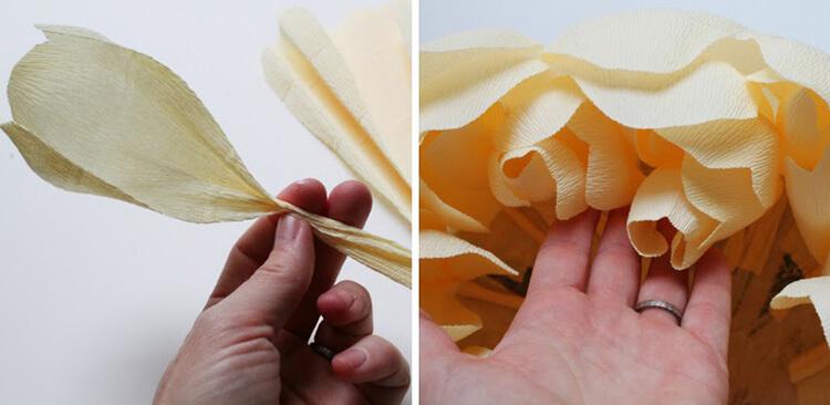 Пион своими руками: как сделать цветок различными способами kak sdelat piony svoimi rukami 168