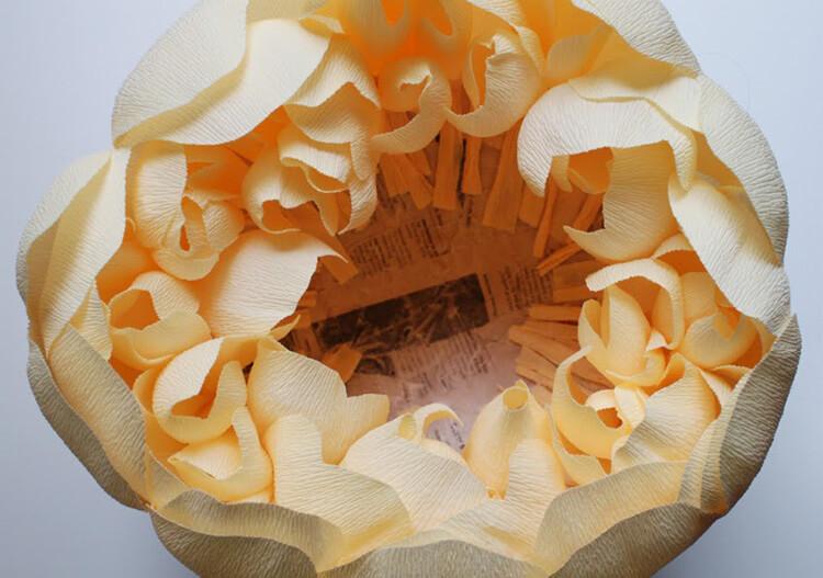 Пион своими руками: как сделать цветок различными способами kak sdelat piony svoimi rukami 169