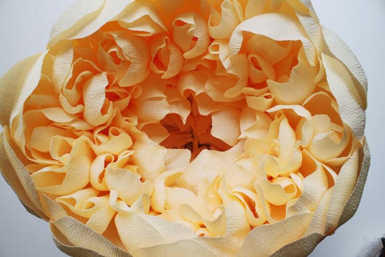Пион своими руками: как сделать цветок различными способами kak sdelat piony svoimi rukami 172