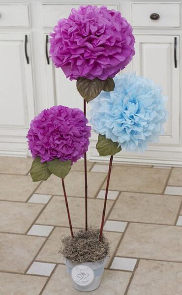 Пион своими руками: как сделать цветок различными способами kak sdelat piony svoimi rukami 181