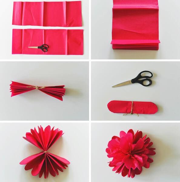 Пион своими руками: как сделать цветок различными способами kak sdelat piony svoimi rukami 184