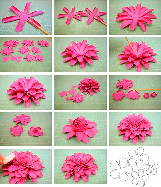 Пион своими руками: как сделать цветок различными способами kak sdelat piony svoimi rukami 2