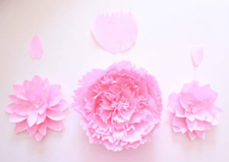 Пион своими руками: как сделать цветок различными способами kak sdelat piony svoimi rukami 29