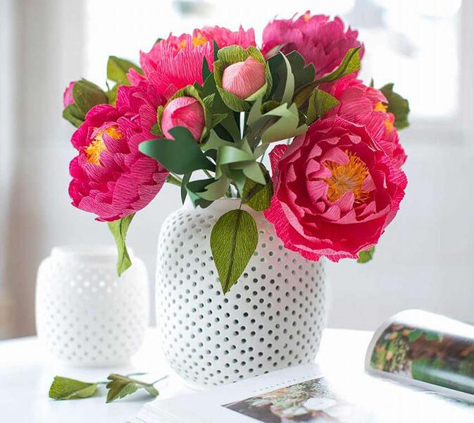 Пион своими руками: как сделать цветок различными способами kak sdelat piony svoimi rukami 30