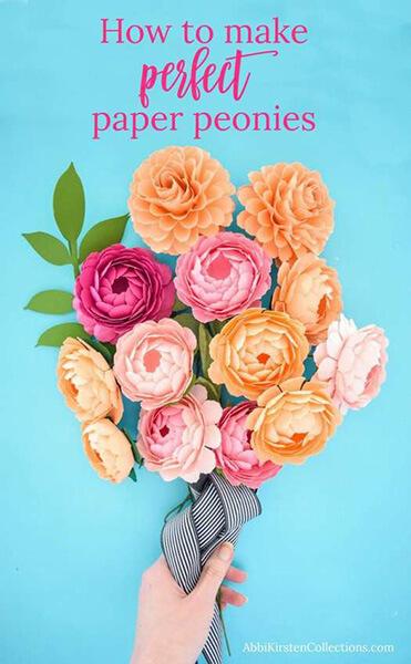 Пион своими руками: как сделать цветок различными способами kak sdelat piony svoimi rukami 4