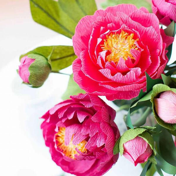 Пион своими руками: как сделать цветок различными способами kak sdelat piony svoimi rukami 53