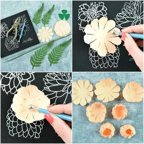 Пион своими руками: как сделать цветок различными способами kak sdelat piony svoimi rukami 7