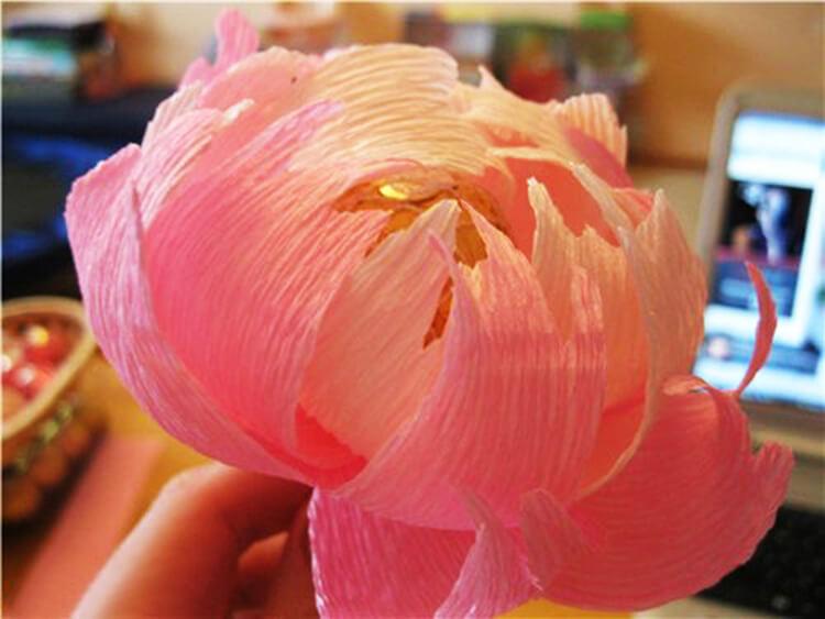 Пион своими руками: как сделать цветок различными способами kak sdelat piony svoimi rukami 76