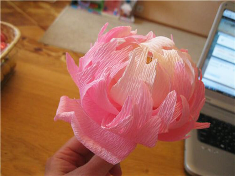 Пион своими руками: как сделать цветок различными способами kak sdelat piony svoimi rukami 77