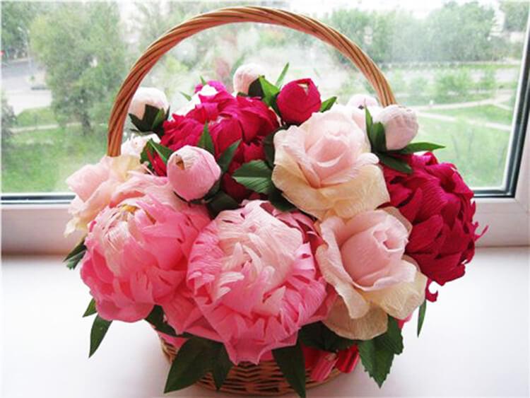 Пион своими руками: как сделать цветок различными способами kak sdelat piony svoimi rukami 78