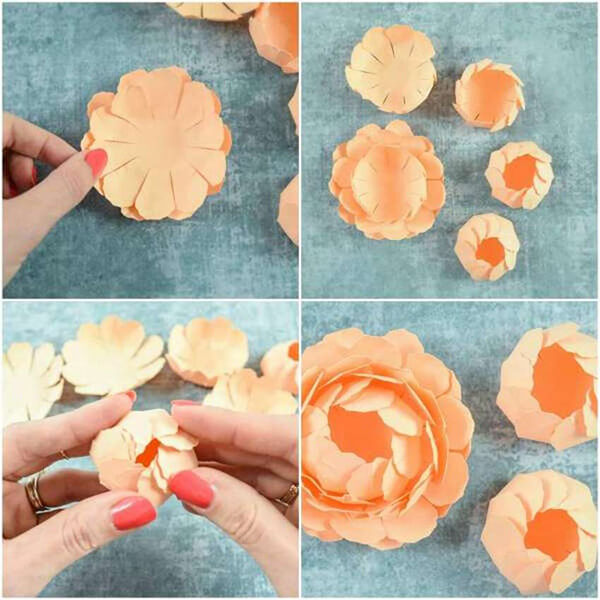 Пион своими руками: как сделать цветок различными способами kak sdelat piony svoimi rukami 8