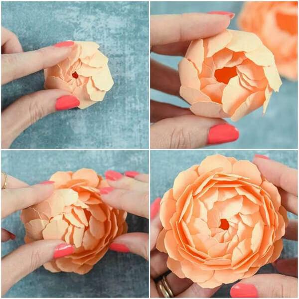 Пион своими руками: как сделать цветок различными способами kak sdelat piony svoimi rukami 9