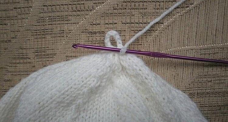 Женский берет спицами: как связать спицами модный головной убор kak svyazat spicami beret 24