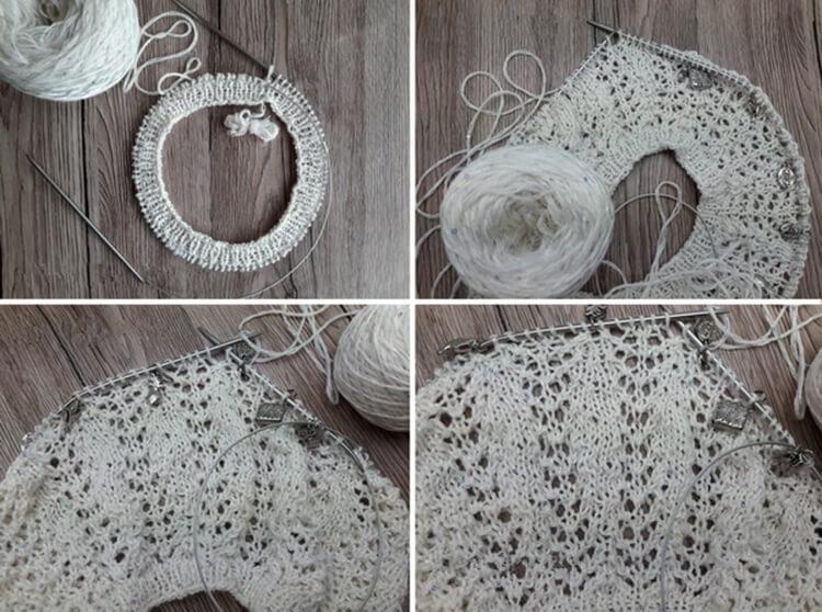 Женский берет спицами: как связать спицами модный головной убор kak svyazat spicami beret 41