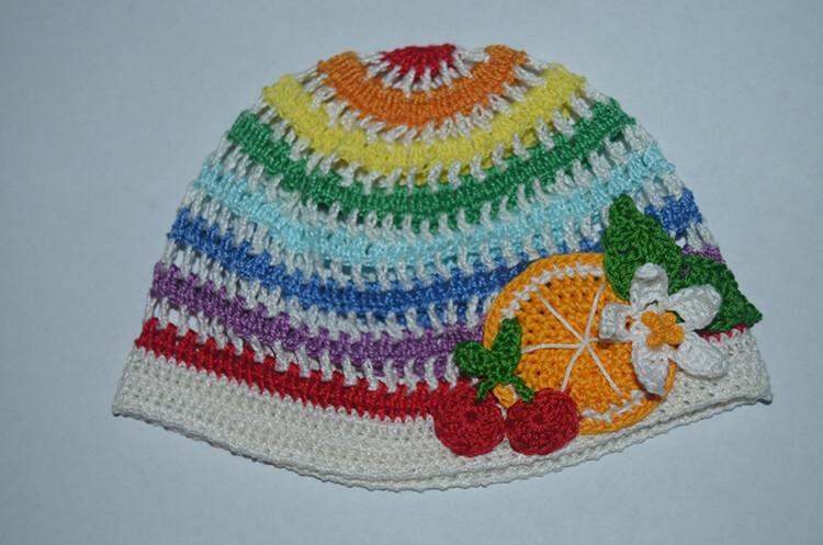 Красивая детская панамка на лето: как связать крючком panamka kryuchkom 67