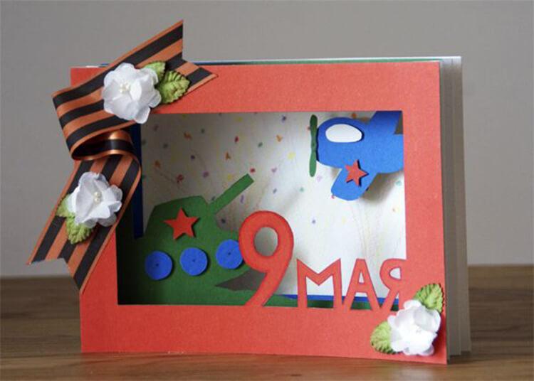 Детские поделки на 9 мая: что можно сделать на день победы podelki na 9 maya svoimi rukami 161
