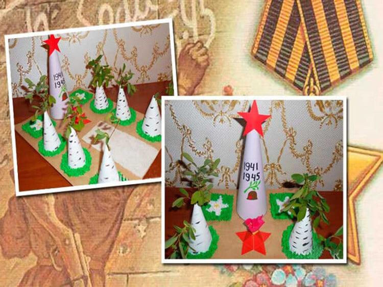 Детские поделки на 9 мая: что можно сделать на день победы podelki na 9 maya svoimi rukami 167
