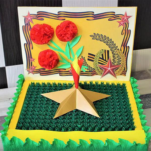 Детские поделки на 9 мая: что можно сделать на день победы podelki na 9 maya svoimi rukami 174