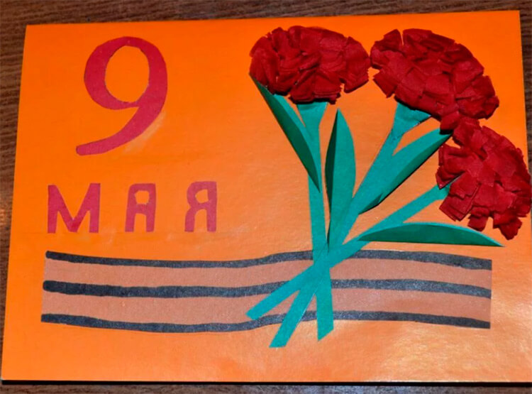 Детские поделки на 9 мая: что можно сделать на день победы podelki na 9 maya svoimi rukami 20