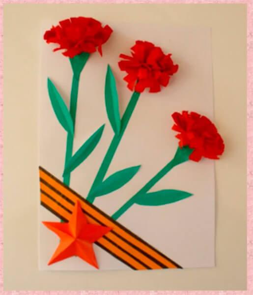 Детские поделки на 9 мая: что можно сделать на день победы podelki na 9 maya svoimi rukami 4