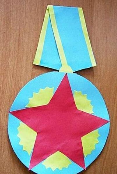 Детские поделки на 9 мая: что можно сделать на день победы podelki na 9 maya svoimi rukami 62