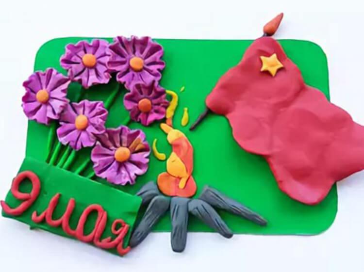 Детские поделки на 9 мая: что можно сделать на день победы podelki na 9 maya svoimi rukami 7