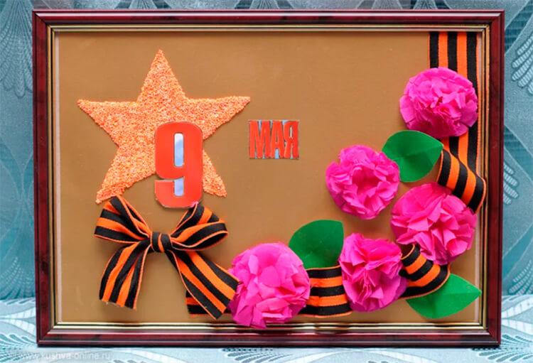 Детские поделки на 9 мая: что можно сделать на день победы podelki na 9 maya svoimi rukami 70
