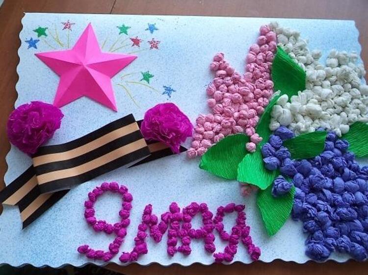 Детские поделки на 9 мая: что можно сделать на день победы podelki na 9 maya svoimi rukami 73