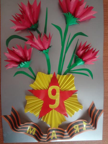 Детские поделки на 9 мая: что можно сделать на день победы podelki na 9 maya svoimi rukami 74