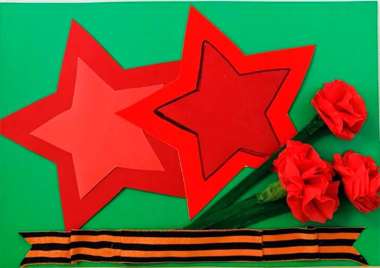 Детские поделки на 9 мая: что можно сделать на день победы podelki na 9 maya svoimi rukami 77