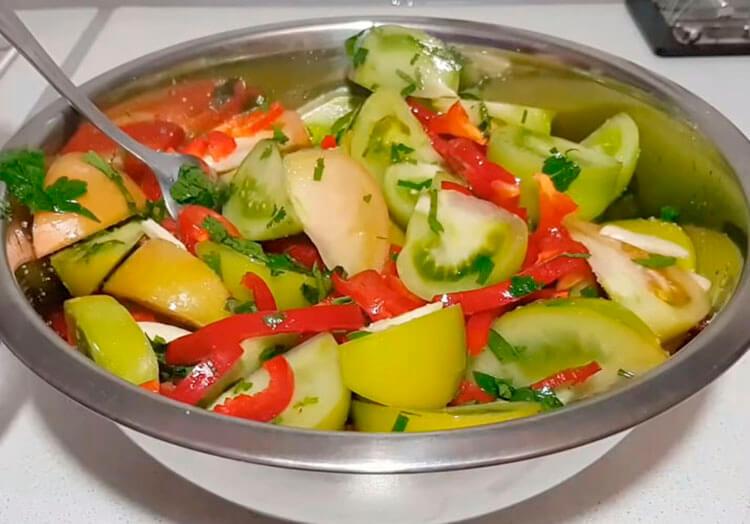 Как приготовить зеленые помидоры на зиму: рецепты пальчики оближешь recept zelenyh pomidor na zimu 4