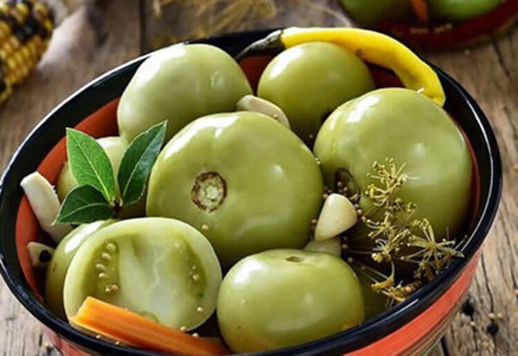 Как приготовить зеленые помидоры на зиму: рецепты пальчики оближешь recept zelenyh pomidor na zimu 8