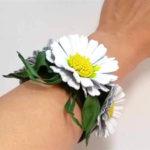 Делаем цветок ромашка своими руками из различных материалов