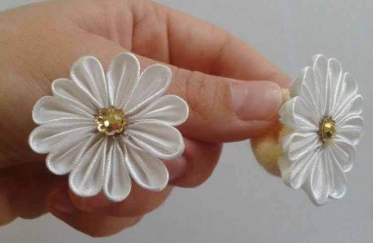 Делаем цветок ромашка своими руками из различных материалов romashki svoimi rukami 108